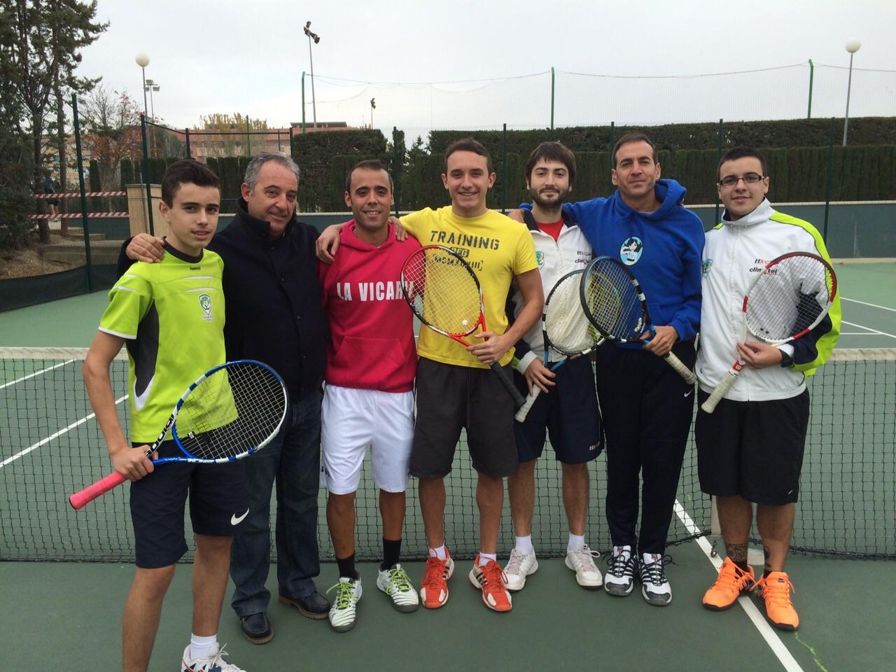Equipo absoluto del Club tenis Zoiti Climetel