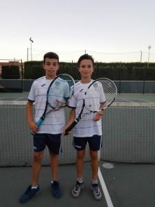 Alfonso Borbón  y Alejandro Salgado